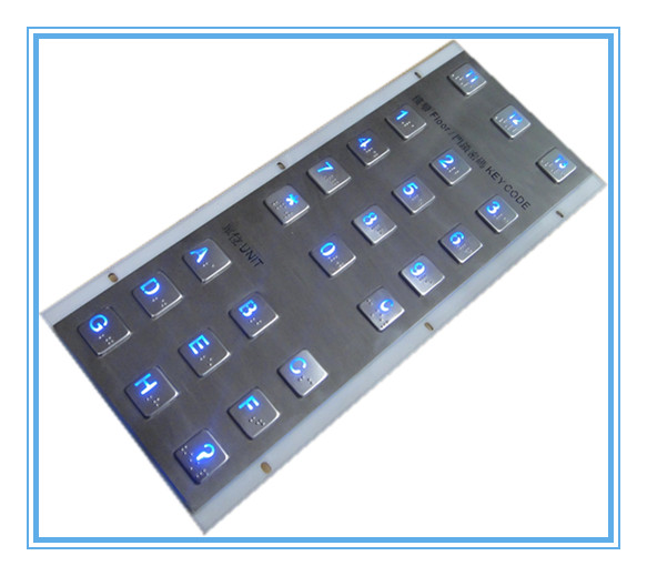 415MM+175MM elevator keyboard hardware with Braille backlight
