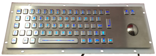 392mm+110MM backlit PC keyboard hardware (trackball)