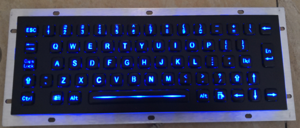 300mm+110MM two-color backlit PC keyboard hardware