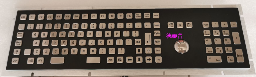 Double-color large keyboard with numeric keys